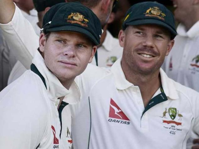 Steve Smith and David Warner (Credit NDTV)